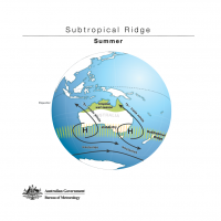 Subtropical Ridge - Summer