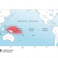 Pacific Map - La Niña