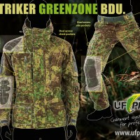 UF PRO Striker Greenzone advertising