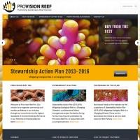 Pro-vision Reef website