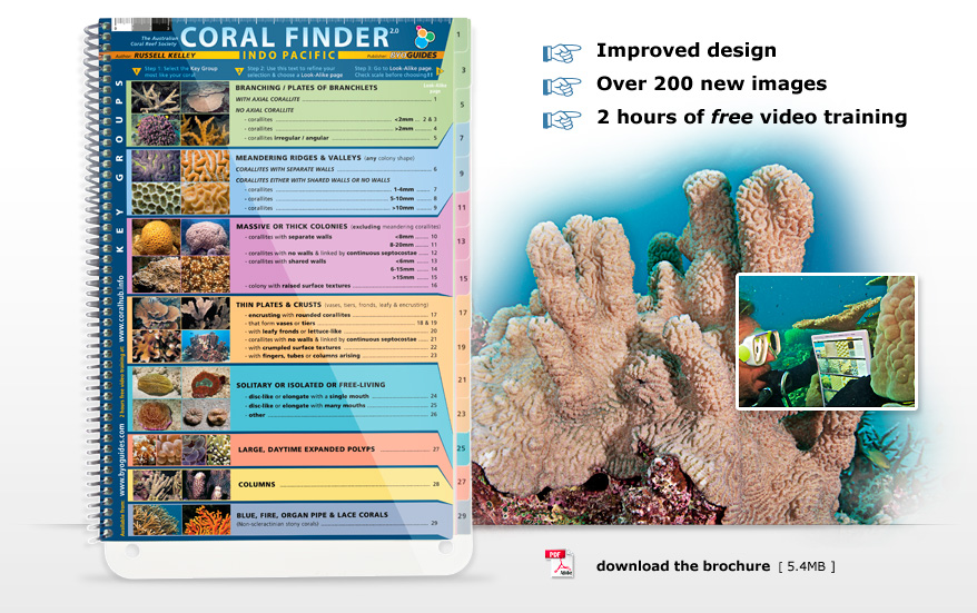 Indo Pacific Coral Finder