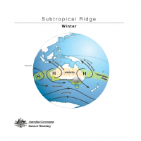 Subtropical Ridge - Winter