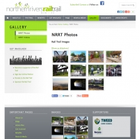 Northern Rivers Rail Trail gallery section