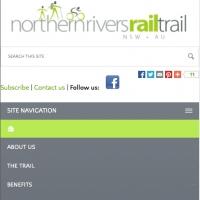 Northern Rivers Rail Trail mobile navigation